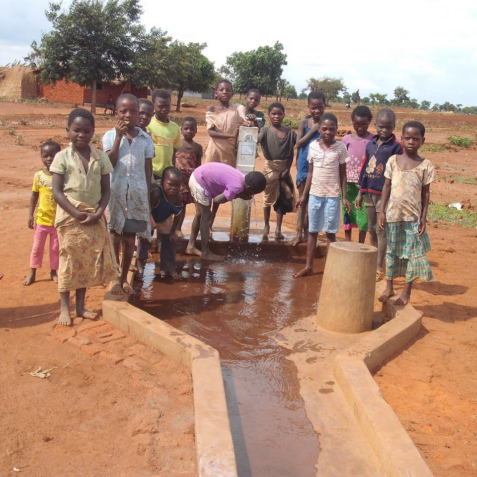 chinthowa development trust the school borehole.