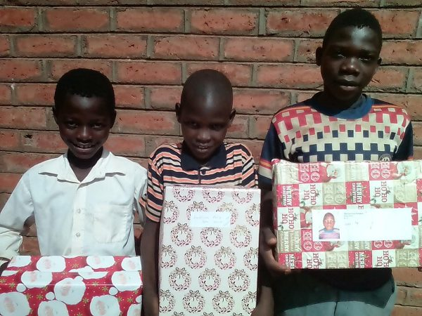 Providing Christmas Gifts To All the Children Of The Village
