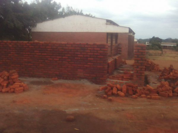 Building The I.T. Block Extension To The School