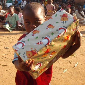 chinthowa development Trust Xmas gifts for the orphans