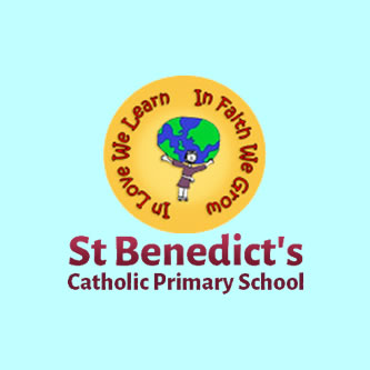 St Bens Primary school logo