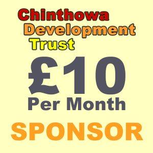 Sponsor £10 logo