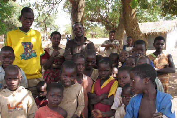 chinthowa development trust Teacher with children